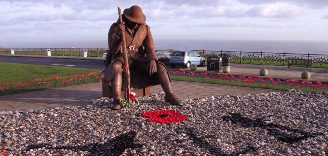 Seaham statue of Tommy the First World War soldier